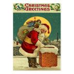 Étiquettes vintages de cadeau de Noël Cartes De Visite Professionnelles