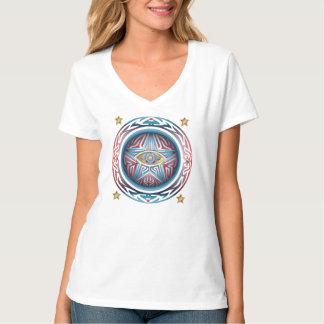 Étoile 2 d'oeil t-shirt