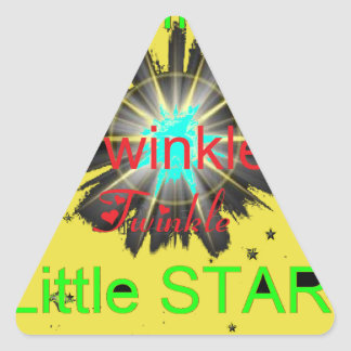ETOILE 2.png Autocollant En Triangle