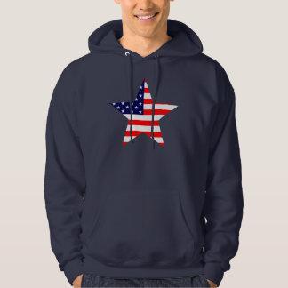Étoile américaine sweats à capuche