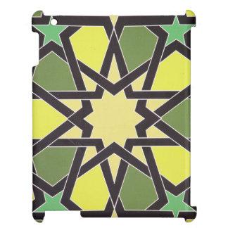 Étoile au coeur du Charjah : Motif vintage frais Coques iPad