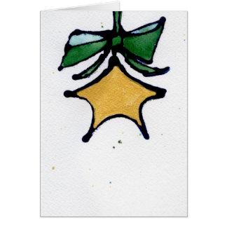 Étoile avec la carte verte d'arc