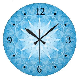Horloges murale de motif - Grande horloge murale blanche ...