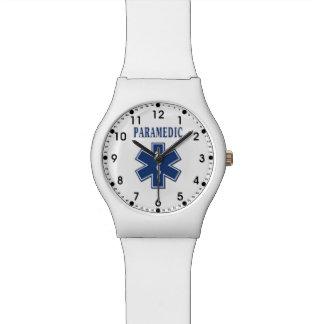 Étoile bleue d'infirmier de la vie montres