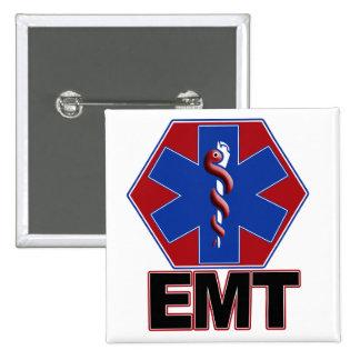ÉTOILE D EMT DE SYMBOLE DE LA VIE - URGENCE TECH M BADGE