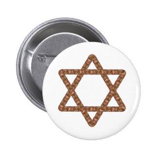 Étoile d étoile de David de tuiles pour la barre o Badge