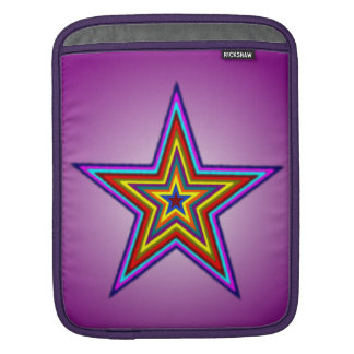 Étoile d'arc-en-ciel housses iPad