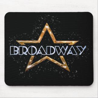 Étoile de Broadway Tapis De Souris