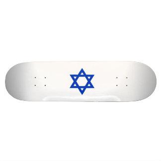 Étoile de David bleue Skateboard