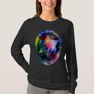 Étoile de David d'arc-en-ciel T-shirt