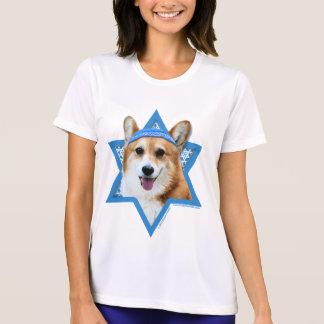 Étoile de David de Hanoukka - corgi - Owen T-shirt