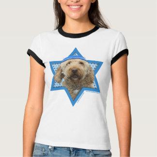 Étoile de David de Hanoukka - GoldenDoodle T-shirt