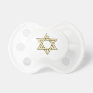 Étoile de David de Matzoh Tétine Pour Bébé