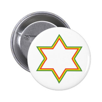 Étoile de David de Rasta Badges