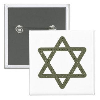 Étoile de David de rivet pour des célébrations jui Badge