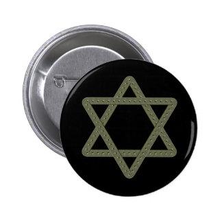 Étoile de David de rivet pour des célébrations jui Badges
