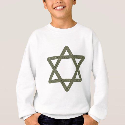 Étoile de David de rivet pour des célébrations T-shirt