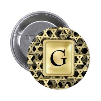 Étoile de David d'or Badges