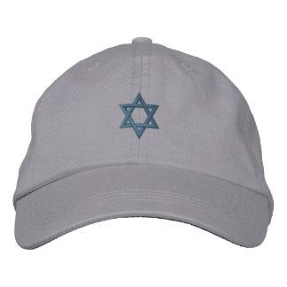 Étoile de David juive Casquette Brodée
