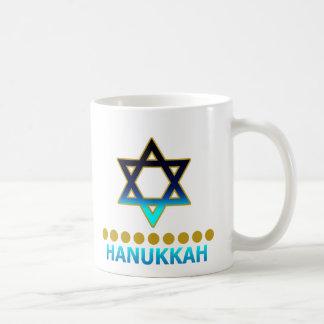 Étoile de David Menorah de Hanoukka Mug