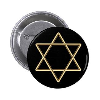 Étoile de David pour la barre Mitzvah ou le bat mi Pin's Avec Agrafe