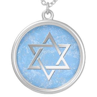 Étoile de David sur l'arrière - plan de pierre Collier
