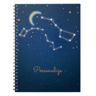 Étoile de grand huit regardant la constellation carnets