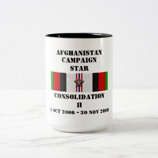 ÉTOILE de la consolidation II/CAMPAGNE Mug Bicolore