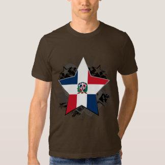 Étoile de la République Dominicaine T-shirt