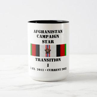 ÉTOILE de la transition I/CAMPAGNE Mug Bicolore