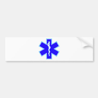 Étoile de la vie (ambulance) autocollant de voiture