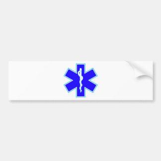 Étoile de la vie (ambulance) adhésif pour voiture