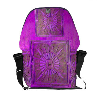 ÉTOILE de MATIN, pourpre, violet Sacoche