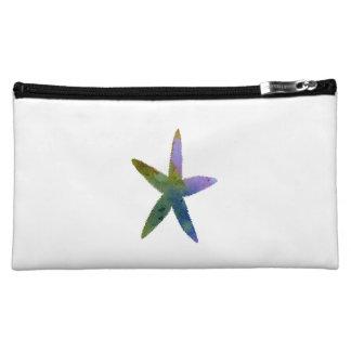 Étoile de mer d'étoiles de mer pochettes make-up