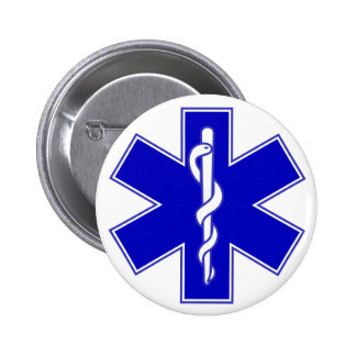 Étoile de Pin de médecin de la vie Badge
