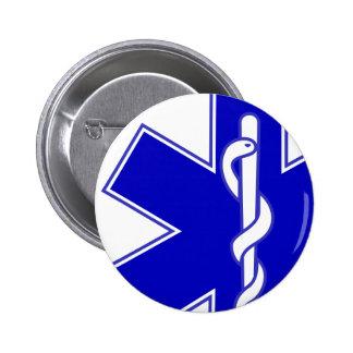 Étoile de Pin excentré de médecin de la vie Badges