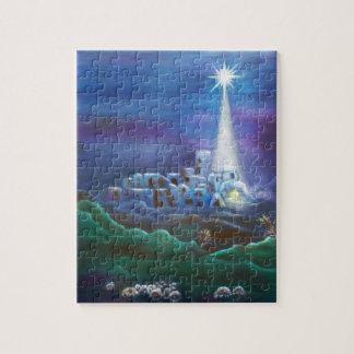 Étoile de puzzle de Bethlehem