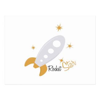 Étoile de Rocket Carte Postale