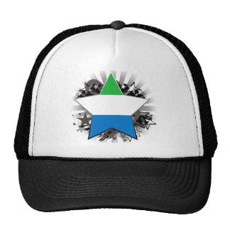 Étoile de Sierra Leone Casquette De Camionneur