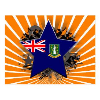 Étoile des Îles Vierges britanniques Cartes Postales