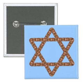 Étoile d'étoile de David de tuiles pour la barre o Badge