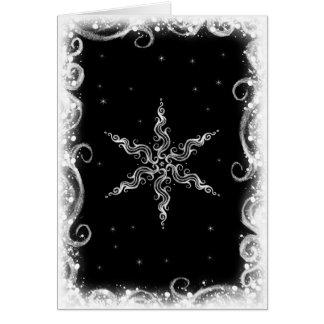 Étoile d'hiver cartes de vœux