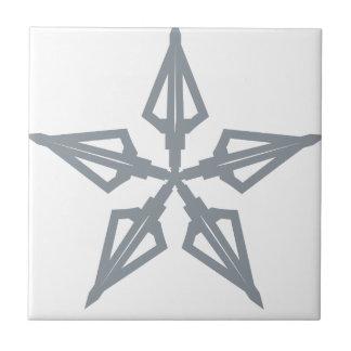 Étoile filante carreau