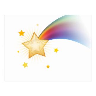 Étoile filante cartes postales