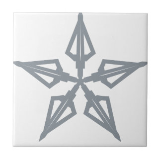 Étoile filante petit carreau carré