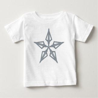 Étoile filante t-shirt pour bébé