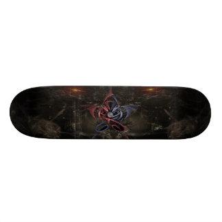 Étoile gothique planches à roulettes customisées