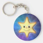 Étoile Keychain Porte-clef