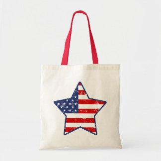 Étoile patriotique sacs