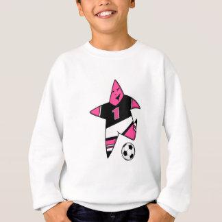 Étoile PRINCIPALE 4 de fille du football Sweatshirt